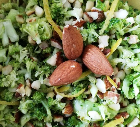 DIY taboulet de brocoli simple, rapide et sain